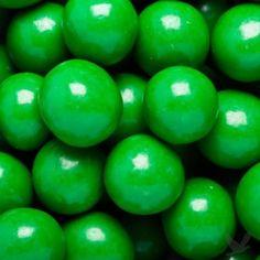 Bulk candy....green
