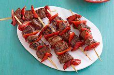 Beef & Red Pepper Kabobs Recipe - Kraft Recipes