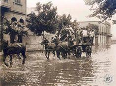 Trasladando ciudadanos para votar, Buenos Aires, noviembre de 1931.