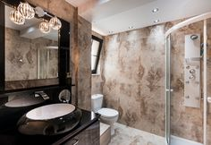 Pandis Palace Luxury seafront holiday Villa in Crete Crete Chania, Villa, Mirror, Luxury, Palace, Bathrooms, Furniture, Gallery, Holiday
