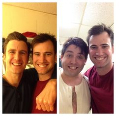 So lucky to have the chance to watch the incredible Gavin Creel & Chris O'Neill in their last show before they grace the Bway stage! It has been an absolute honor and pleasure gentleman!