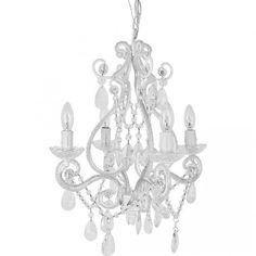 Chandeliers for Girls' Room