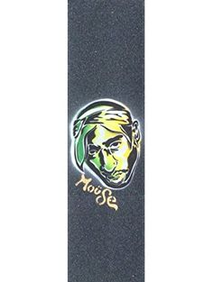 "Machiavelli Moüse Skateboard Grip Tape Sheet Black 9"" x 33"" BUBBLE FREE ❤ Moüse Movement"