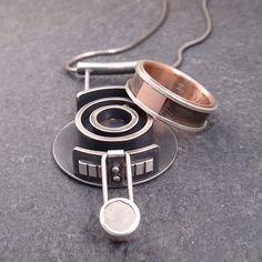 Wedding Ring Holder Pendant Ring Pendant Sterling Silver Pendant Box  Pendant Reliquary Pendant Pregnancy Pendant Locket Ring Necklace