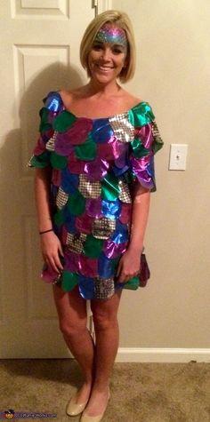 The Rainbow Fish - Homemade Halloween Costume