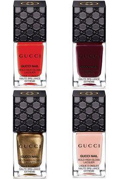 First Look at #Gucci #Nail Polish