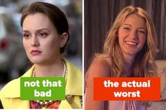 """17 """"Gossip Girl"""" Characters Ranked From Pure Of Heart To Truly Horrible Feeling Worthless, Dream School, I Will Fight, Viral Trend, Buzzfeed News, Best Husband, Girls Characters, Good Good Father, Losing Her"""