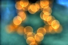 Bokeh Star HDR by Peter Gorges, via Flickr