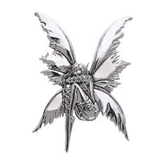 Unbound fairy pendant by fantasy artist Amy Brown Peter Stone Just Like Silver
