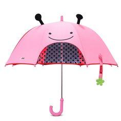 Este Guarda Chuva Joaninha Zoo SKip Hop além de proteger seus filhos da chuva é sup...