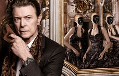 Never have I ever attended a Venetian Ball with David Bowie, but this is sure to change.    L'invitation au voyage, Venice. #LouisVuitton.  See the very cool film Louis Vuitton made featuring the God amongst mortals:  https://www.youtube.com/watch?v=GpTwgRk2aUU
