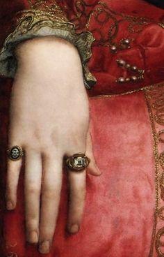 Eleanor of Toledo (detail), Bronzino