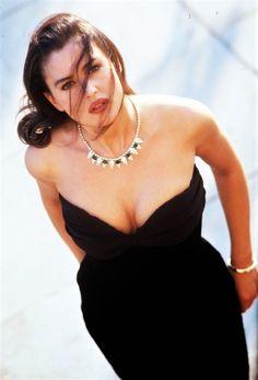 Monica Bellucci photographed by Grazioli Roberto, 1995.