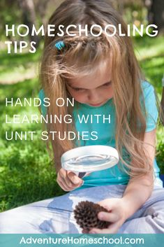 Homeschooling Tips - Hands on Learning with Unit Studies Hands On Learning, Home Learning, Homeschooling In Florida, Homeschool Curriculum Reviews, Frugal Family, Unit Studies, Creative Teaching, Worksheets For Kids, Florida Adventures