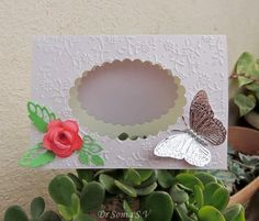 DIY Paper DIY Craft  DIY Aperture Card  -Bigshot Tips