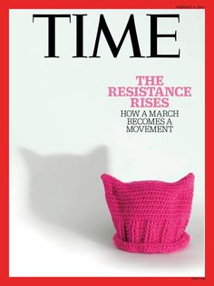 Time Magazine Cover Pussy Hat