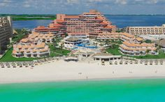 Beach at 5 star hotel: Omni Cancun Hotel & Villas. This hotel's address is: Boulevard Kukulcan KM Hotel Zone Cancun 77500 and have 346 rooms Cancun Hotel Zone, Cancun Vacation, Cancun Resorts, Mexico Resorts, Vacation Places, Hotels And Resorts, Dream Vacations, Vacation Spots, Mexico Vacation
