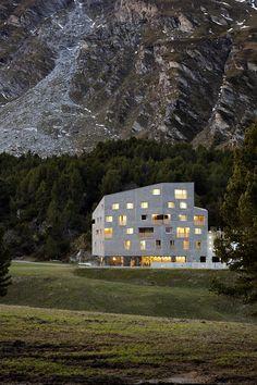 1000 images about facades concrete on pinterest social housing architects and zurich - Gmur architekten ...
