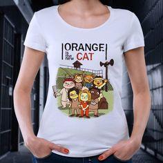 T-Shirt - Orange is the new cat