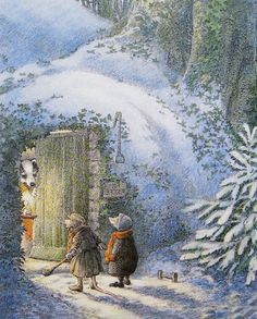 The Wind in the Willows by Inga Moore.