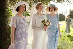 Una boda victoriana inspirada en Downton Abbey: fotograma