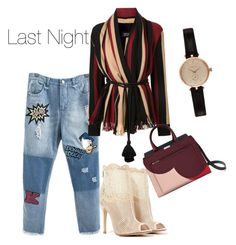 """""""Last Night"""" by anamayo on Polyvore featuring Chinese Laundry, Lanvin and Barbour"""