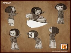 Character design - Despicable me, the spa studios