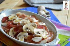 Antipasto+di+lonza+e+funghi+champignon