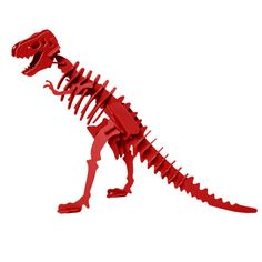 Dinosaur Toy Dinosaur Puzzle 3D Dinosaur Skeleton by BoneyardPets