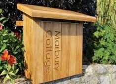 Personalised Wooden Post Boxes| Bespoak Designs
