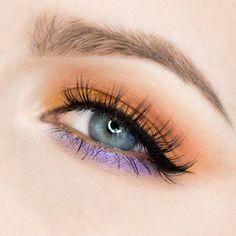 Makeup Geek Eyeshadows in Chickadee, Morocco, and Peach Smoothie Makeup Geek Foiled Eyeshadows in Caitlin Rose, Day Dreamer, and Flame Thrower. Look by rebeccashoresmua Makeup Geek, Skin Makeup, Beauty Makeup, Matte Eyeshadow, Eyeshadow Looks, Peach Makeup, Hooded Eye Makeup, Colorful Eye Makeup, Makeup Looks