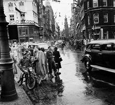 Amsterdam: Het Rembrandtplein in 1948