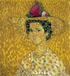 ღღ Cuno Amiet, Swiss painter 1868-1961