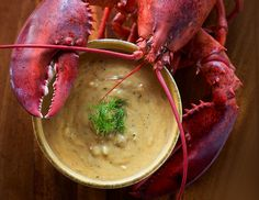 Lobster Mobster Pernod Chowder  -  Duke's recipe
