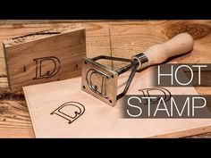 Making a Wood & Leather Branding Iron - YouTube