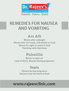 Remedies For Nausea, Homeopathic Remedies, Homeopathy Medicine, Doctor In, Clinic, Food, Essen, Meals, Yemek