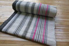 HmongFabric  Handwoven Vintage hemp fabric  by tribalcollection, $44.99