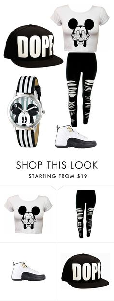 """Dope."" by queenboldon ❤ liked on Polyvore featuring TAXI and Disney"