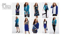 Ricki's – 10 Items 10 Ways Ocean Blues | Fashion. Style. Beauty.