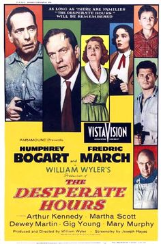 The Desperate Hours - USA starring Humphrey Bogart and Fredric March. The movie was produced and directed by William Wyler Humphrey Bogart, Bogart And Bacall, Old Movie Posters, Classic Movie Posters, Cinema Posters, Classic Movies, Old Movies, Vintage Movies, Bette Davis