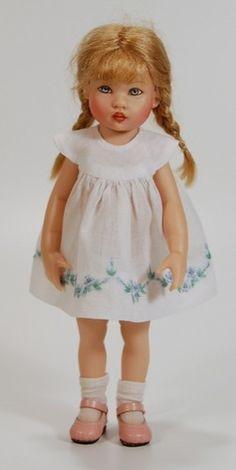 One of my favorite little dolls - Riley, by Helen Kish