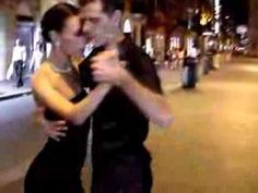 Fantastic Argentinian Tango Street Dance Accompanied By Armiks Lovely Music (Tropical Breeze) آرمیک - YouTube