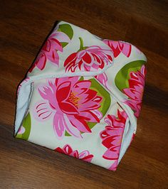 Cloth Diapers! If I could actually sew...I would totally do this for next baby!