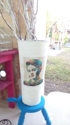 Cubo Frida by Isabel Tello #elrincondeisabel