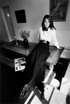 Charlotte Rampling for Vogue Paris, 1970.