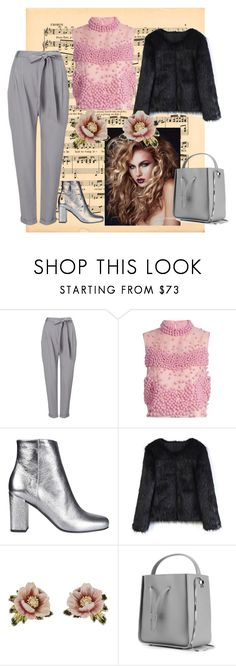 """#springair"" by annmariec2 ❤ liked on Polyvore featuring Phase Eight, Roksanda, Yves Saint Laurent, Chicwish, Les Néréides and 3.1 Phillip Lim"