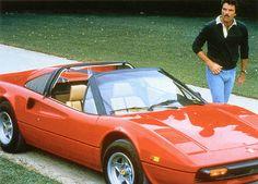 Magnum P.I. and the Ferrari