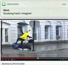 Me during exam periods