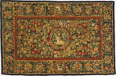 Table carpet with unicorns, ca. 1600. Dutch. The Metropolitan Museum of Art, New York. Gift of P. A.B. Widener, 1970 (1970.250) #tapestrytuesday