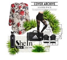 """""""Sheinside"""" by mirelaagm ❤ liked on Polyvore featuring Y-3, adidas and Hydro Flask"""